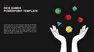 Dice Gaming Powerpoint Template And Keynote Slide Slidebazaar