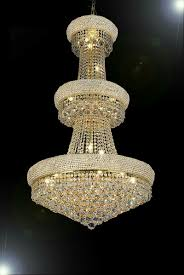 glamorous swarovski crystal chandelier