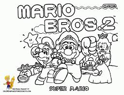 Small Picture Mario Bros Coloring Super Mario Bros Free Coloring Pages Within