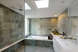 bathroom home design. inspiring natural home bathroom with stone material and white large vanities design plus gree eco plant h