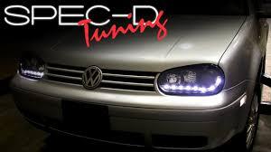 SPECDTUNING Installation Video: Volkswagen GOLF 99-05 R8 STYLE ...