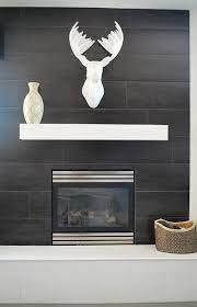 tiled fireplace wall fireplace tile