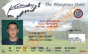 Od Id Kentucky Card Kentucky Id