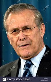 Donald Rumsfeld - * 09.07.1932: Amerikanische Politiker und 21  Usa-Verteidigungsminister von 2001 bis 2006 Stockfotografie - Alamy