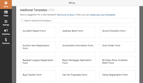 Auction Registration Form Template How To Install And Use The Form Templates Pack Addon