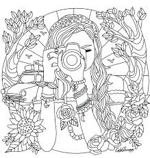 Bff Coloring Pages Best Friend For Teenage Girls Collection Anime