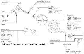 moen bathtub faucet repair instructions shower handle parts list and diagram com within valve replacement how