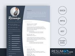 Oulixes Concave Banners Resume Template Resumgocom