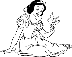 Small Picture Disney Princess Snow White Coloring Pages Free Coloring Pages