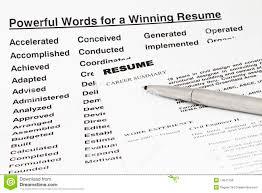 Resume Power Words 100 Power Words For Resume Therpgmovie 66