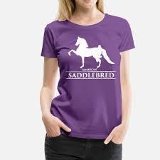 american saddlebred saddlebred1 white women s premium t shirt