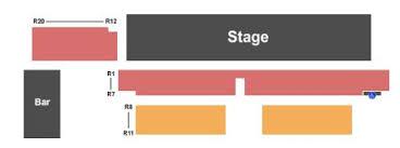 Crescent Ballroom Seating Chart The Crescent Ballroom Tickets And The Crescent Ballroom