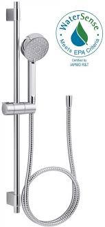 kohler hand shower single bath faucet awaken spray slide bar polished chrome kit