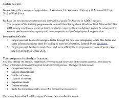 Microsoft Office Example Solved Analyze Learners We Are Taking The Example Of Upgr
