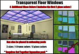 mod the sims transpa floor windows