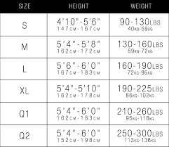 Tights Size Chart Women Pack For Camp