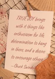 Christian Quotes On Joy Best Of TRUE JOY Brings With It Things Like Enthusiasm For Life