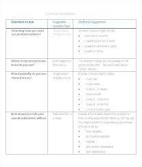 Free Survey Template Word Free Survey Template Free Survey Template Best Templates
