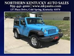 2018 jeep wrangler sport in highland heights ky