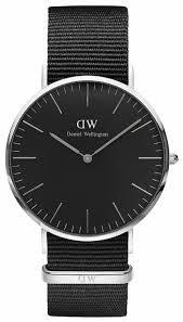 <b>Наручные часы</b> Daniel Wellington Classic Black Cornwall <b>Silver</b>