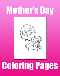 Printable coloring pages for mothers day. Mother S Day Coloring Pages Free Printable Pdf From Primarygames