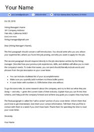 How To Write A Cover Letter For Free 40 Free Cover Letter Templates For Ms Word Resume Genius