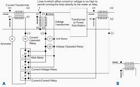25 answers what is the difference between a current transformer voltage transformer burden calculation at Potential Transformer Wiring Diagram
