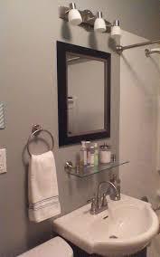 bathroom tempered glass shelf: bathroom glass shelves for bathroom modern double sink bathroom
