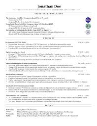 Resume Advice For Mid Career Electrical Engineer Resumes