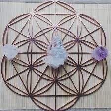 Crystal Grid Patterns Simple Decorating Design
