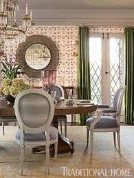 beautifully updated tudor style home elegant dining room