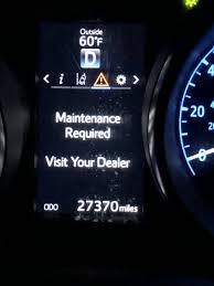 Tacoma Maint Reqd Light Toyota Corolla Im Questions Orange Maintenance Required