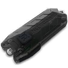 <b>Nitecore TUBE LED Keychain</b> Flashlight Black Mini Straight ...