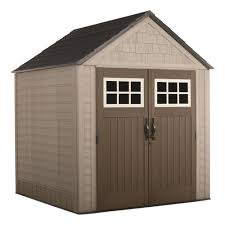 rubbermaid big max 7 ft x 7 ft storage shed