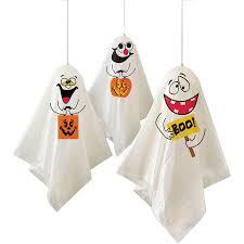 <b>Hanging Ghost Halloween</b> Decorations, 35in, 3ct - Walmart.com ...