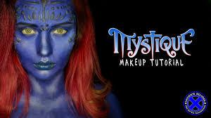 x men mystique makeup tutorial nyx face awards russia 2016 entry you