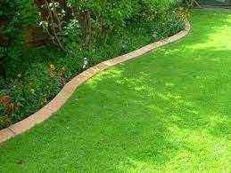 garden lawn edging garden border