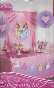 Princess Party Decoration Amazonsmile Disney Princess Party Decorating Kit Toys Games