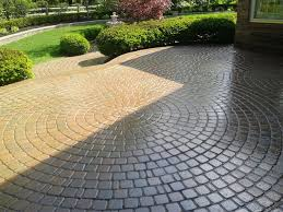 Paving Ideas For Backyards Painting Awesome Design Inspiration