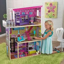 wooden barbie dollhouse furniture. KidKraft Girls Modern Wooden Dollhouse Kids Pretend Play Toy W/ Furniture Barbie R
