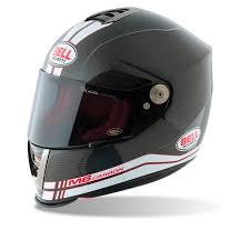 bell m6 carbon fibre full face racing sports track acu motorcycle