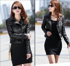 specifications of womens short jacket high quality imitation sheepskin jackets coats leather faux leather jackets