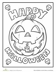 Small Picture First Grade Halloween Coloring Sheets Pictures Coloring First