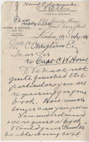 horne cw first mother letter 1