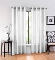 image of 96 inch semi sheer curtains