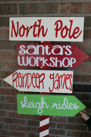 Christmas Signs Top 25 Best North Pole Sign Ideas On Pinterest Pole Sign North