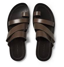 Best Men S Designer Sandals Dan Ward Multi Strap Leather Sandals Mr Porter Leather