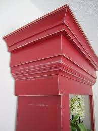painted red furniture. distressing furniture painted red
