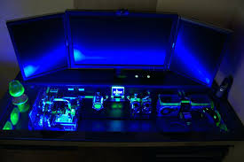 large image for best custom pc cases this custom built computer desk case will make your