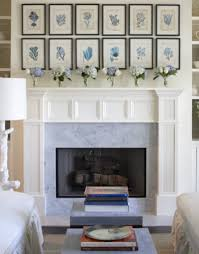 nautical decor above fireplace ideas for decorating a fireplace